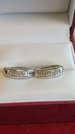 14k white gold earings 1/2 cttw for Sale in Indianapolis, IN