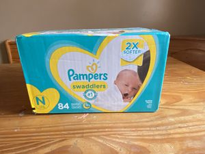 Pampers Newborn Diapers for Sale in Wichita, KS