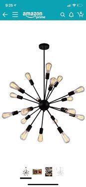 Sputnik style modern chandelier light for Sale in Los Angeles, CA