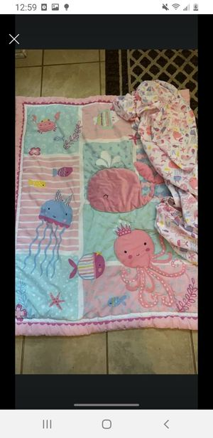 UNDER SEA CRIB SET for Sale in Charlotte, NC