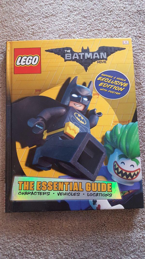 Brand New Lego Batman Movie Essential Guide Book