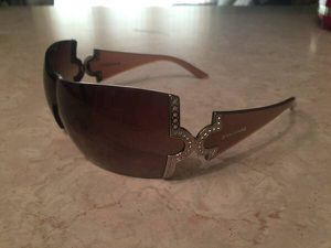 100% authentic Bvlgari 651B brown sunglasses with Swarovski crystals for Sale in Tempe, AZ