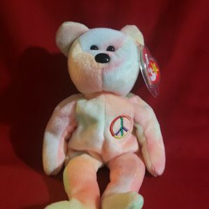 TY Beanie Babies Peace Bear for Sale in Union City, CA
