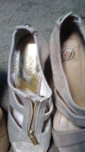 Michael kors size 6 name brand heels for Sale in Riverside, CA