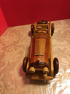 Toy collectible solid wood Roadster for Sale in Freeport, NY