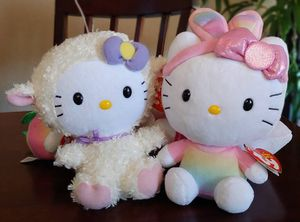 Bundle of 5 Ty Hello Kitty Beanie Babies for Sale in Kyle, TX