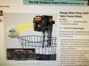 Newgy table tennis Robot 1040 for Sale in Santa Ana, CA