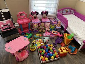 120 for all, frozen toddler bed included!!! for Sale in Marietta, GA