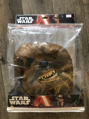 Star Wars Chewbacca Halloween Mask (NEW) for Sale in New York, NY