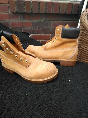 Size 9 Timberlands STEELTOE for Sale in Pittsburgh, PA