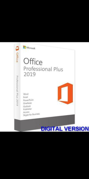 Physical Microsoft Office 2020/2019 Copy for Sale in Fontana, CA