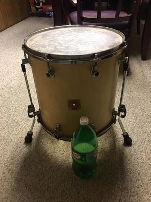 Sonor sonic plus drum set floor tum for Sale in WARRENSVL HTS, OH