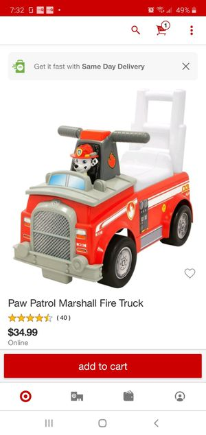 Paw patrol bike new for Sale in Irving, TX