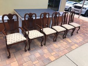 Lot of 6 Dining Room Chairs for Sale in Largo, FL