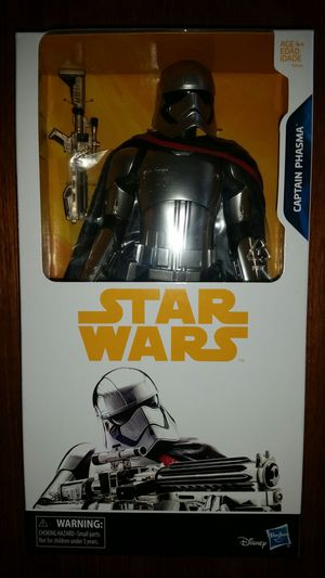 Disney Hasbro Star Wars Captain Phasma Toy Action Figure for Sale in Gardena, CA