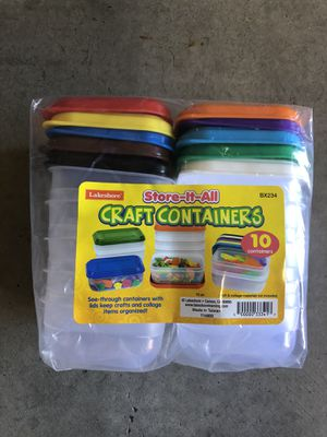 Lakeshore craft storage containers for Sale in San Diego, CA