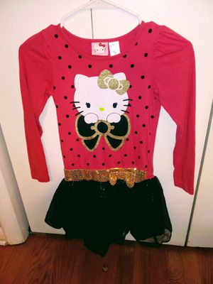 4 Hello Kitty Dress's and Shirt & Skirt for Sale in GOODLETTSVLLE, TN