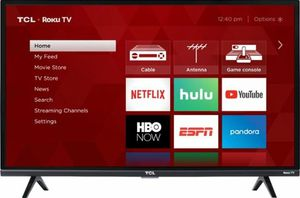 2018 brand new tcl 32 Roku smart tv for Sale in Modesto, CA