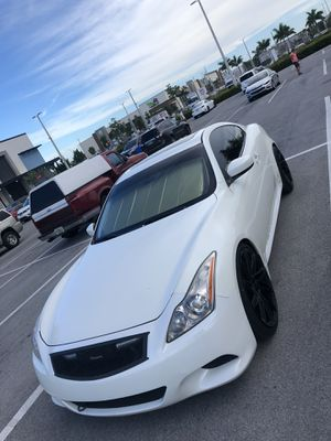2008 infiniti g37s coupe for Sale in Hollywood, FL