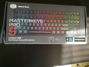 Masterkeys Pro S RGB - Blue Switch Mechanical Keyboard for Sale in Skokie, IL