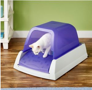 Pet safe scoop free auto clean cat box new for Sale in Pea Ridge, AR