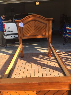 Twin bed frame & slats for Sale in Venice Gardens, FL