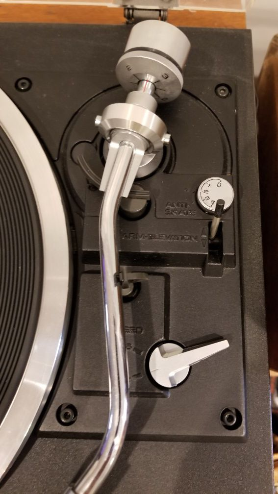 Vintage Pioneer PL-514X Turntable, Record Player, Black, Silver, Automatic Return