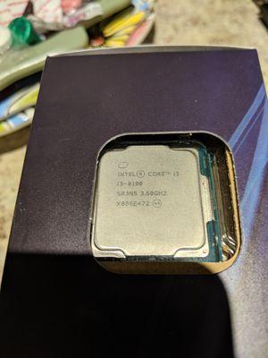 Intel i3-8100 cpu for Sale in St. Cloud, FL