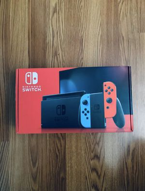 Nintendo Switch with Neon Joy Cons BRAND NEW SEALED! for Sale in Kissimmee, FL