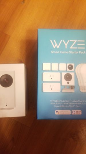 Wyze home starter pack for Sale in Richmond, CA