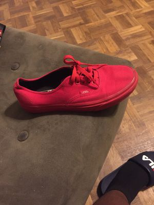 Red vans for Sale in Dallas, TX
