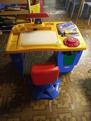 Kids coloring desk for Sale in Houston, TX