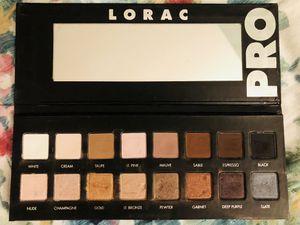 Lorac Pro eyeshadow makeup palette for Sale in Rockville, MD