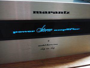 Marantz Model 32 power amp vintage for Sale in Bremerton, WA