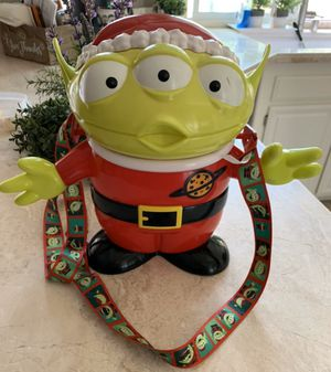 Disneyland Little Green Man Popcorn Bucket Christmas 2018 Pixar Toy Story for Sale in Pomona, CA