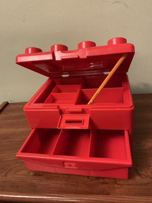 Lego storage box (open for offers) for Sale in Chicago, IL