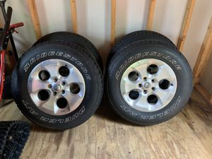 Jeep wheels and tires for Sale in Auburn, PA