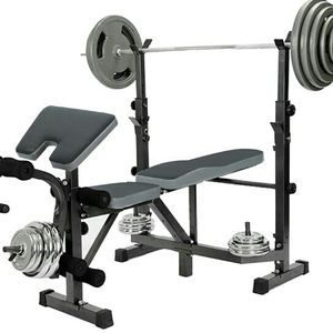 Dumbbell Bench Weightlifting Bed with Preacher Curl Leg Developer and Crunch Handle for Sale in Sylmar, CA