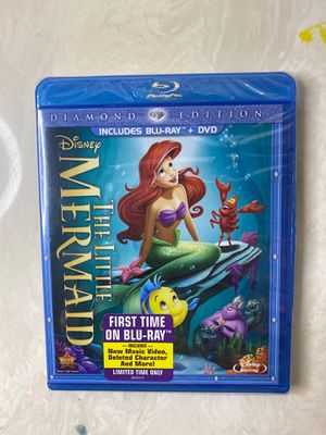 The Little Mermaid Diamond Edition, DVD & Blu-Ray SEALED for Sale in Bergenfield, NJ