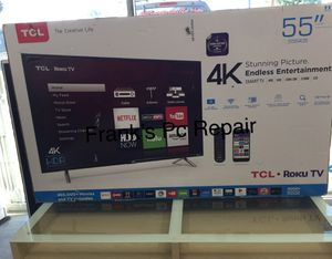 55 INCH TLC ROKU SMART TV 📺 for Sale in Chino, CA