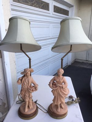 VINTAGE LAMPS for Sale in Garden Grove, CA