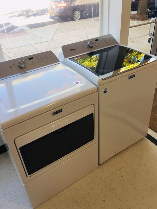 🔥🔥New Maytag washer and electric dryer set with Agitator (6) months warranty 🔥🔥