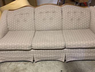 Camel Back Sleeper Sofa for Sale in Olympia,  WA