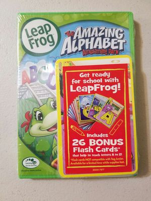 Leapfrog Alphabet DVD with Flash Cards for Sale in Vernon, CA
