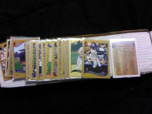 Mint Topps Complete 2001 Leage Set with check List for Sale in Montrose, CO