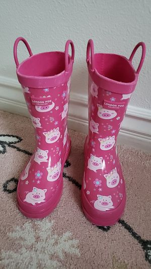 Brand new girls rain boot size 10 for Sale in Los Angeles, CA