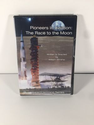 Pioneers in aviation: the race to the moon dvd Movie documentary by William winship for Sale in San Antonio, TX