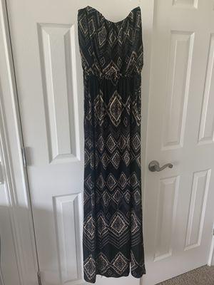 Tribal print maxi dress-XS for Sale in Alexandria, VA