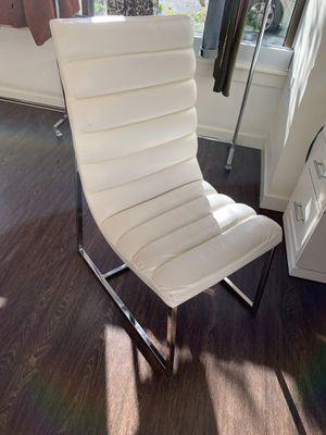 White Desk Chair for Sale in Bainbridge Island, WA