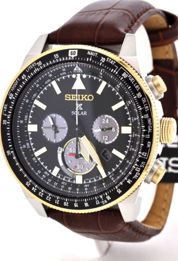 Seiko Chronograph Pilots Watch